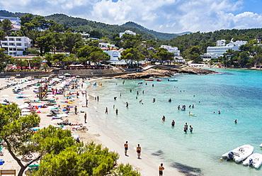 Playa De Portinatx beach, Ibiza, Balearic Islands, Spain, Mediterranean, Europe