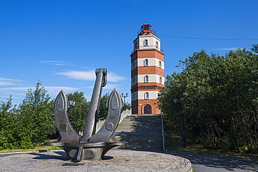 Monument of Sailors of the Kursk in Murmansk, Russia, Europe