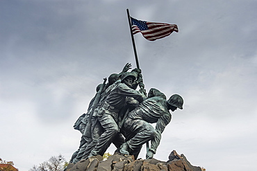 US Marine Corps War Memorial, Arlington, Virginia, United States of America, North America