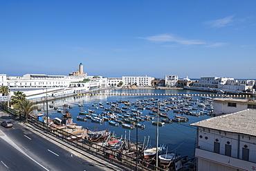 Small boat harbour, Algiers, Algeria, North Africa, Africa