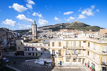 View on the old Kasbah from the Bey's Palace, Oran, Algeria, North Africa, Africa