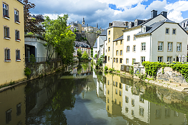The old quarter of Luxembourg, UNESCO World Heritage Site, Luxembourg, Europe