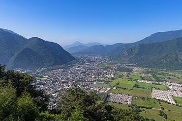 View over Orizaba valley, Orizaba, Veracruz, Mexico, North America