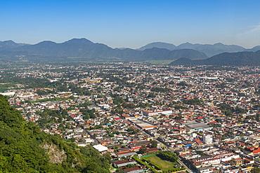 View from the cerro Borrego over Orizaba, Veracruz, Mexico, North America