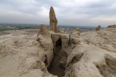Ruins of old Kandahar, Zorr Shar, founded by Alexander the Great, Kandahar, Afghanistan, Asia