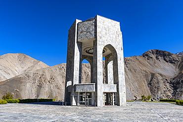 Ahmad Shah Massoud memorial, Panjshir Valley, Afghanistan, Asia