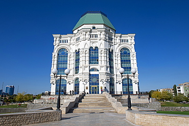 Musical State Theater of Opera and Ballet in Astrakhan, Astrakhan Oblast, Russia, Eurasia