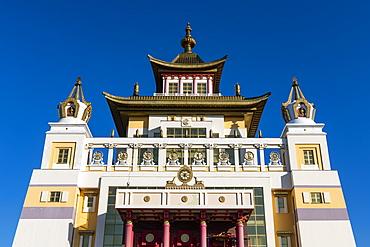 The Golden Abode of the Buddha Shakyamuni (Burkhan Bakshin Altan Sume), Elista, Republic of Kalmykia, Russia, Eurasia