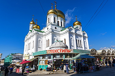 Cathedral of the Nativity of the Theotokos in Rostov-on-Don, Rostov Oblast, Russia, Eurasia