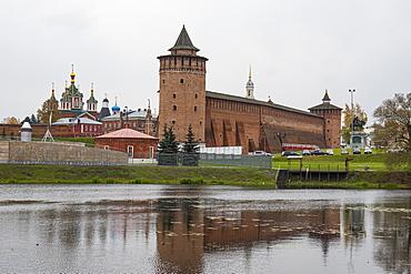 The old Kremlin of Kolomna, Moscow Oblast, Russia, Eurasia