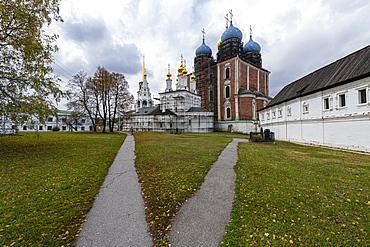 Cathedral, Ryazan Kremlin, Ryazan, Ryazan Oblast, Russia, Eurasia