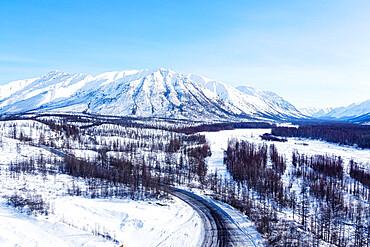 Road of Bones, Sakha Republic (Yakutia), Russia, Eurasia