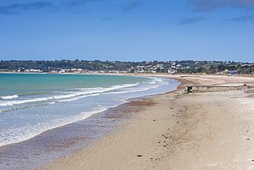 The bay of St. Aubin, Jersey, Channel Islands, United Kingdom, Europe