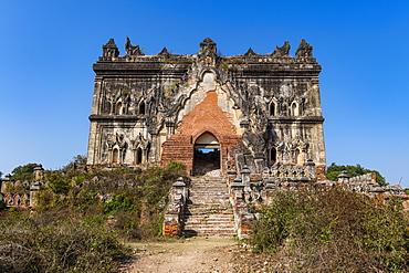 Lay Htat Gyi Temple, Inwa (Ava), Mandalay, Myanmar (Burma), Asia