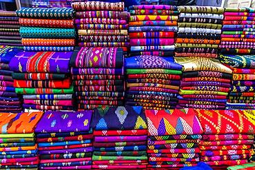 Colourful clothes, Myitkyina, Kachin state, Myanmar (Burma), Asia