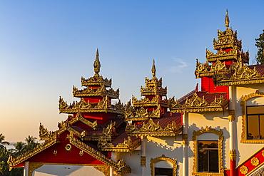 Kyaikthanian paya, Mawlamyine, Mon state, Myanmar (Burma), Asia