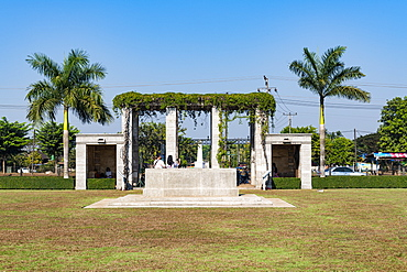 Thanbyuzayat War Cemetery, Thanbyuzayat, Mon state, Myanmar (Burma), Asia