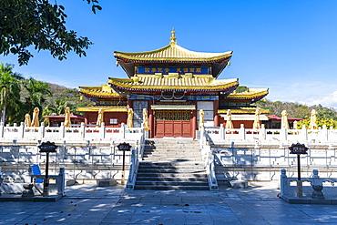 Buddhist temple, Nanshan Temple, Sanya, Hainan, China, Asia