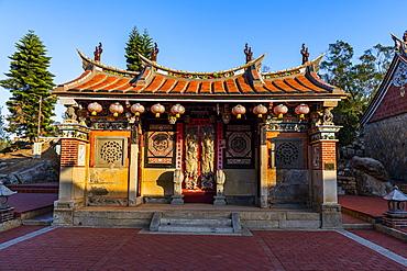 Traditional houses in Zhu Shan Village, Kinmen island, Taiwan, Asia