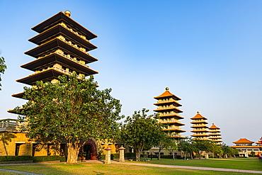 Fo Guang Shan Monastery, Fo Guang Mountain (Shan), Taiwan, Asia