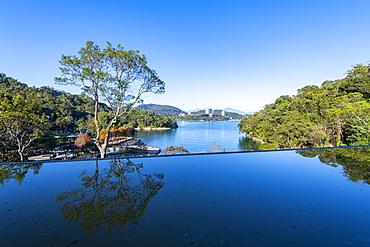 Xiangshan Scenic Outlook, Sun Moon Lake, National Scenic Area, Nantou county, Taiwan, Asia