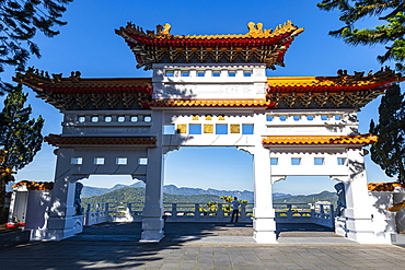 Syuentzang Temple, Sun Moon Lake, National Scenic Area, Nantou county, Taiwan, Asia