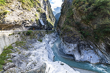 Taroko Gorge, Taroko National Park, Hualien county, Taiwan, Asia