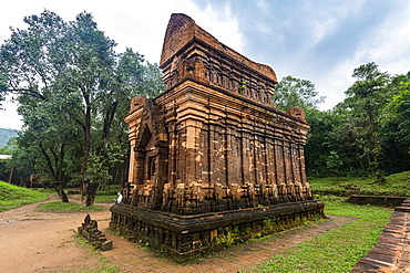 Champa Hindu temple in My Son, UNESCO World Heritage Site, Vietnam, Indochina, Southeast Asia, Asia