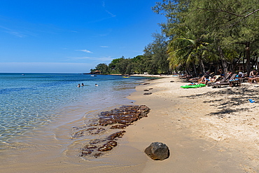 Ong Lang beach, island of Phu Quoc, Vietnam, Indochina, Southeast Asia, Asia