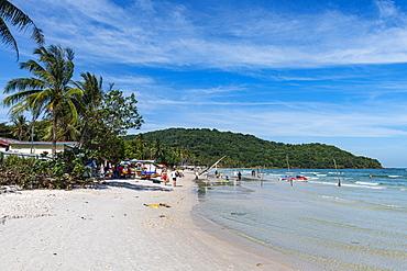 Sao Beach, island of Phu Quoc, Vietnam, Indochina, Southeast Asia, Asia