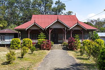 Lungleng Chieftain, Heritage Home, Lungleng, Mizoram, India, Asia