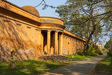 Sentinel fort in the Kangla Palace, Imphal, Manipur, India, Asia