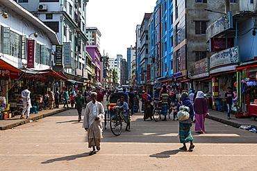 Downtown Sylhet, Bangladesh, Asia
