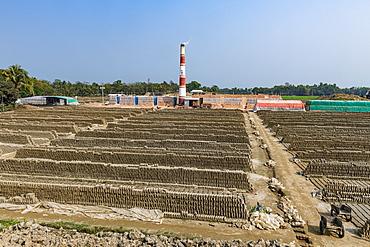 Brick stone factory, Sreemagal, Bangladesh, Asia