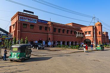 Historic train station, Chittagong, Bangladesh, Asia