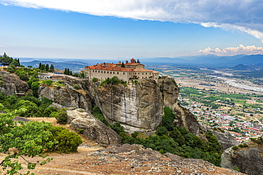 Holy Monastery of St. Stephen, UNESCO World Heritage Site, Meteora Monasteries, Greece, Europe