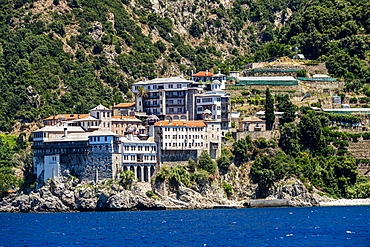 Monastery of St. Gregory, UNESCO World Heritage Site, Mount Athos, Central Macedonia, Greece, Europe