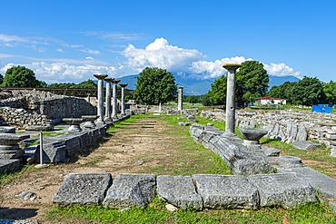 Philippi, UNESCO World Heritage Site, Macedonia, Greece, Europe