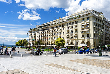 Aristotelous Square, UNESCO World Heritage Site, Thessaloniki, Greece, Europe