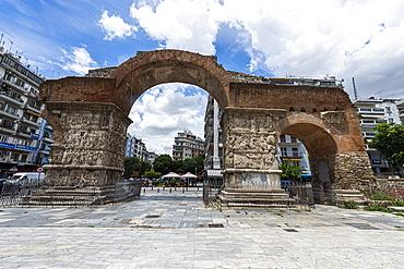 Arch of Galerius, UNESCO World Heritage Site, Thessaloniki, Greece, Europe