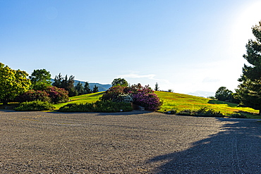 Burial mound, Aigai, Vergina, UNESCO World Heritage Site, Greece, Europe