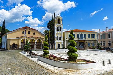 Greek church, Xanthi, Thrace, Greece, Europe