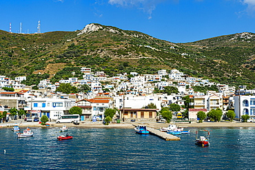 Port of Kampi, Fourni (Fournoi), Greek Islands, Greece, Europe