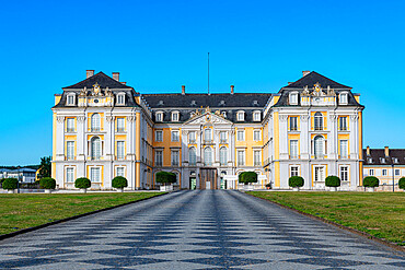 Augustusburg Palace, UNESCO World Heritage Site, Bruhl, North Rhine-Westphalia, Germany, Europe