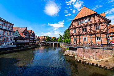 Old Hanseatic city of Luneburg, Lower Saxony, Germany, Europe