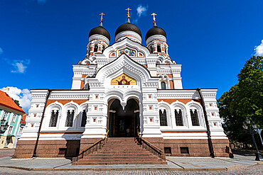 Alexander Nevsky Cathedral, Upper Town, UNESCO World Heritage Site, Tallinn, Estonia, Europe