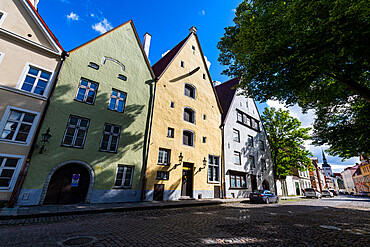 Old Hanseatic town of Tallinn, UNESCO World Heritage Site, Estonia, Europe