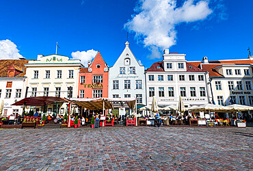 Town Hall Square, Tallinn, Estonia, Europe