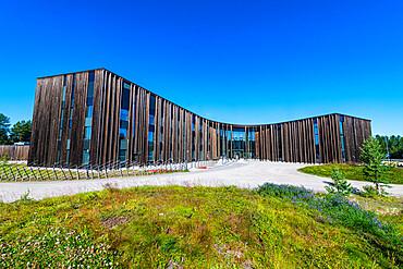 Siida Museum for Sami culture, Inari, Lapland, Finland, Europe