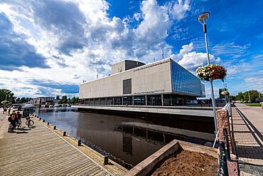Oulu City Theatre, Oulu, Finland, Europe